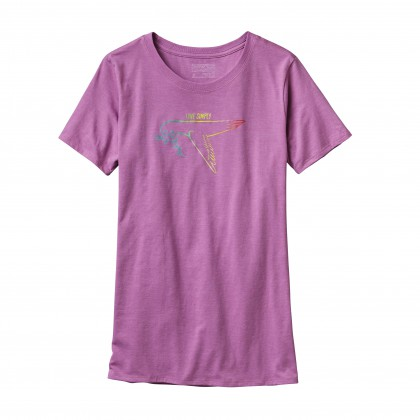 Patagonia Women Live Simply Dove Crew T-Shirt
