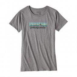 Patagonia W´s Pastel P-6 Logo Cotton Crew