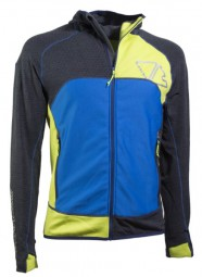 Crazy Idea Jacket Resolution Man V50 GY wild blue gray melange