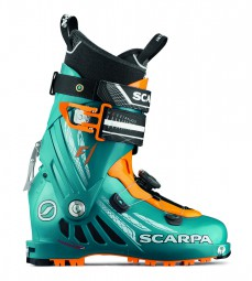 Scarpa F1 petrol blue orange