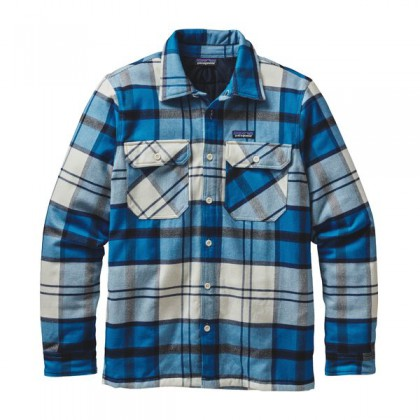 Patagonia Insulated Fjord Flannel Jacket Herren Hemd